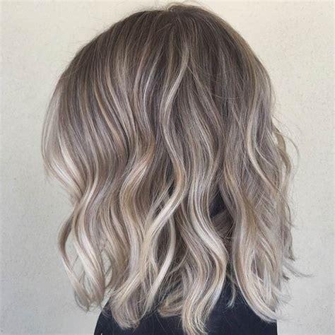 bob grey blonde hair 47 hot long bob haircuts and hair color ideas blonde
