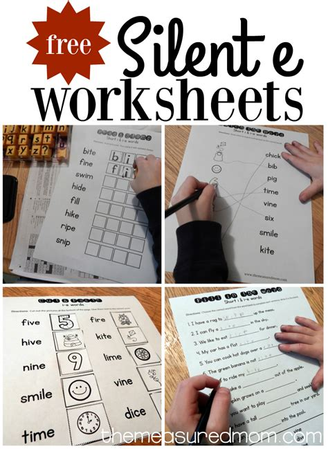 I E Worksheets by 10 Free I E Worksheets The Measured