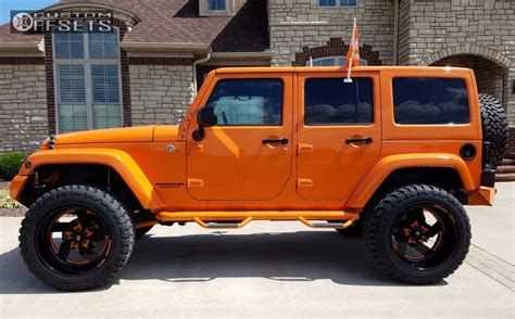 orange jeep lifted jeep rubicon lifted orange gallery of sold with jeep