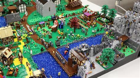scheune mittelalter lego moc mittelalter stadt mit gro 223 er burg