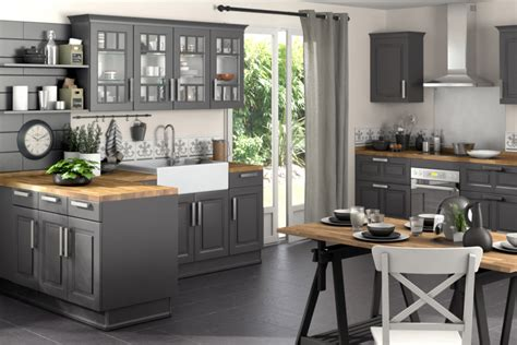 meuble de cuisine gris meuble gris cuisine mobilier design d 233 coration d int 233 rieur