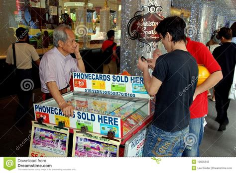 Where To Sell Gift Card - singapore street vendor selling phone cards editorial stock photo image 19825843