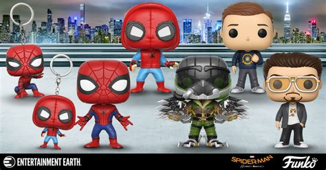 Funko Pop Marvel Spider Homecoming spider homecoming figures and toys