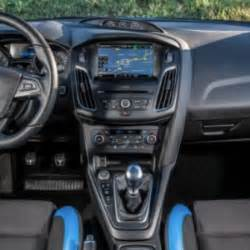 new car report 2018 ford focus rs500 interior new cars report