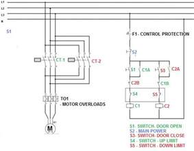 reversing a 3 phase asynchronous motor using limit switches doityourself community forums