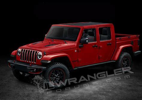 jeep truck 2019 2019 jeep wrangler pickup looks scrambler rific in latest