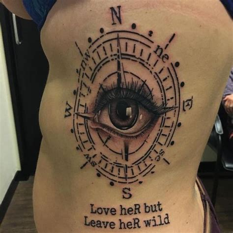 compass tattoo rib cage cool rib tattoos for girls and guys rib cage tattoo