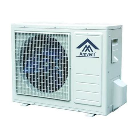 amvent 24 000 btu mini split air conditioner inverter type
