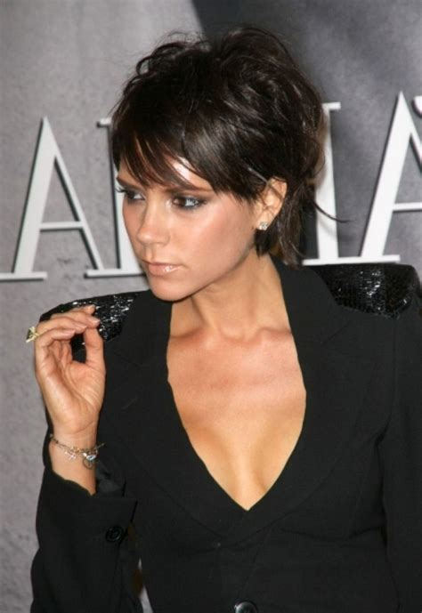 is victoria beckham thinning 15 chic short hairstyles for thin hair you should not