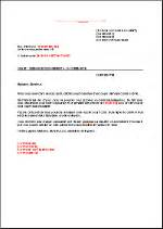 Request Letter For Certification Of Full Payment Prepayment Request Fr