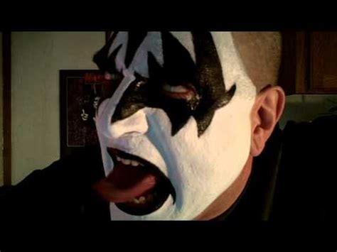 kiss makeup tutorial demon gene simmons demon makeup kiss youtube