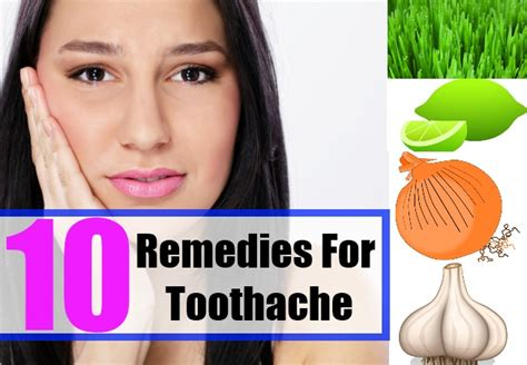 10 ways to treat toothaches naturally home remedies for