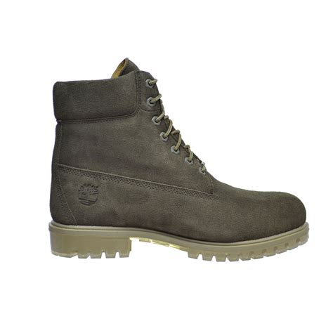 timberland 6 inch s premium suede boots green tb0a18pz