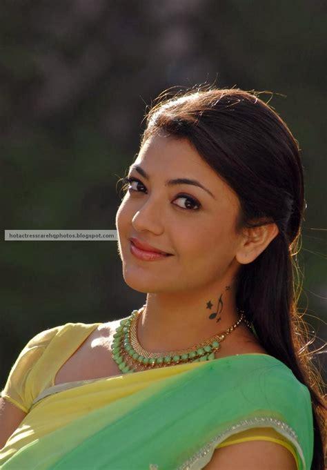 Kajal Agarwal Tattoo On Neck | hot indian actress rare hq photos actress kajal agarwal