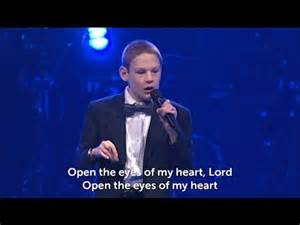 open the of the blind a blind boy sings open the of my lord