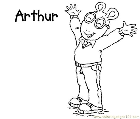 Coloring Pages Arthur Coloring Cartoons Gt Arthur Free Arthur Colouring Pages