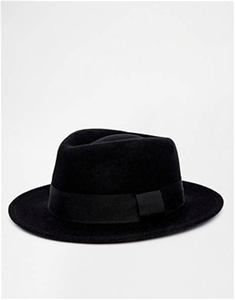 Asos Basic Straw Trilby Hat s hats caps beanies trilby baseball caps asos