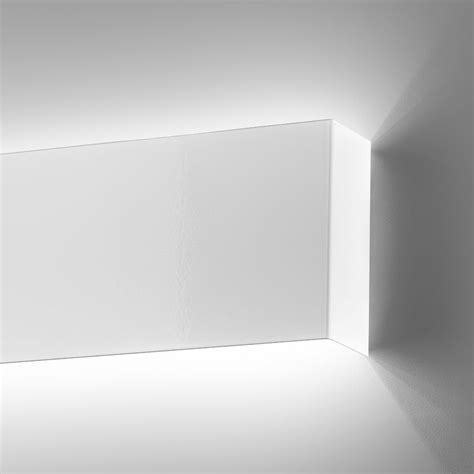applique da parete led applique led design moderno metallo laccato l 60 cm line