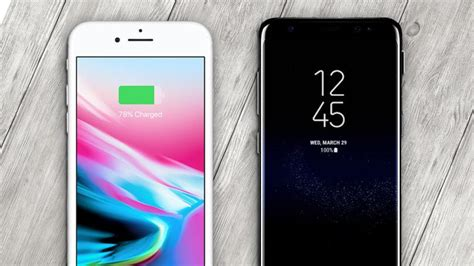 Iphone V Samsung by Iphone 8 Vs Samsung Galaxy S8 Apple And Samsung Pcmag