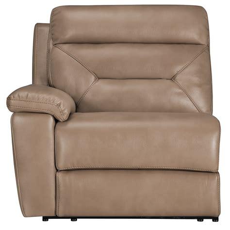 sectional recliner sofa with sleeper beige microfiber city furniture dk beige microfiber large two arm