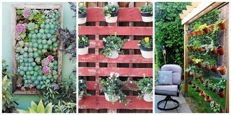 how to make vertical garden wall 26 creative ways to plant a vertical garden how to make