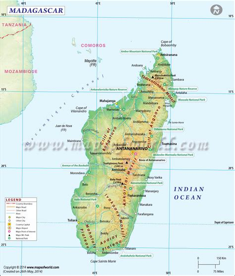 madagascar map tourmaline in madagascar