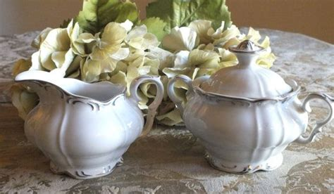 Yami Porcelain Cupping Bowl Yellow bohemian china creamer and lidded sugar set