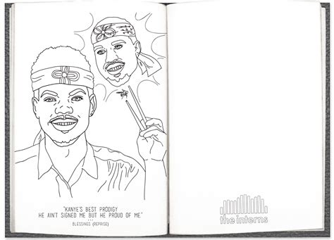 Chance The Rapper Coloring Book Album Cover