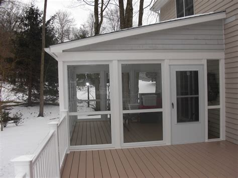 Enclose Porch enclose your screen porch custom decks of fairfield county connecticut westchester county