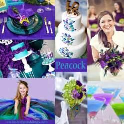 your wedding colors peacock exclusively weddings