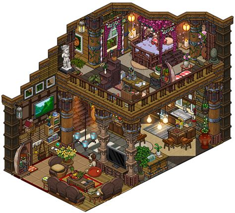 habbo house designs house design