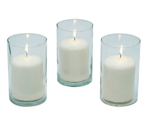 Wedding Cylinder Vases by Cylinder Vase And Pillar Candle Set For Wedding Centerpieces Products I