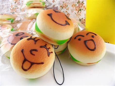 squishy meaning jumbo emoticon hamburger squishy charms 183 kawaii