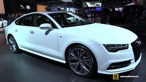 Audi A7 S Line Interior by 2015 Audi A7 Tdi S Line Exterior And Interior Walkaround