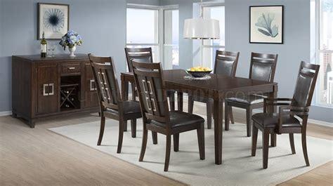 mahogany dining room set rodney 200 5pc dining room set in mahogany by elements