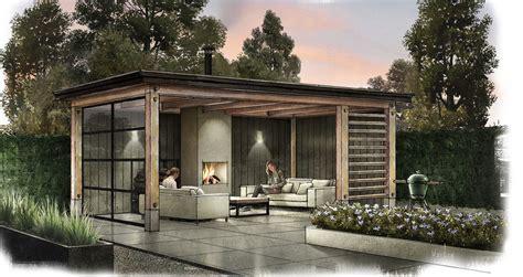 veranda zwart hout tuinkamer veranda serre overkapping wonen nl