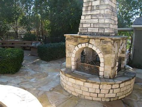 outdoor fireplace diy home