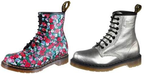 dottor martens a fiori dr martens oh my shoes