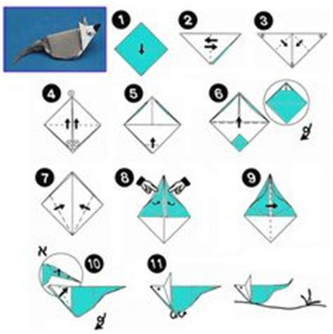 Origami Mice - 1000 images about origami animals mouse on