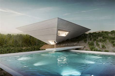 house of andar inverted pyramid house uncrate