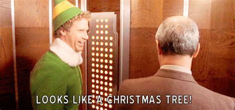 merry christmas elf gif find share  giphy