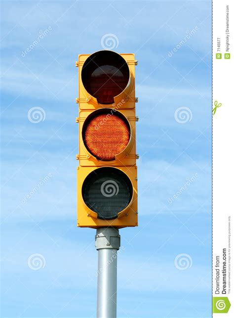 blue lights on traffic signals yellow traffic signal light royalty free stock photography