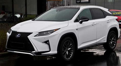 lexus rx 450h hybrid suv automobile news and tech