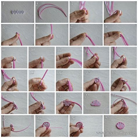 quilling tutorial on pinterest quilling zig zag flower tutorial quilling pinterest