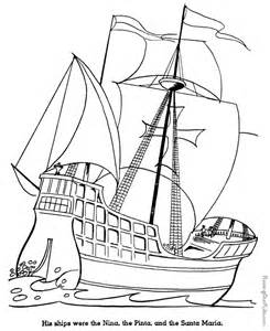 christopher columbus coloring pages christopher columbus ships coloring pages coloring pages