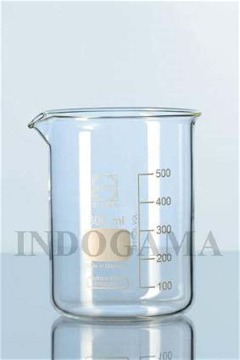 Beaker Glass 50ml Iwaki indogama glasswares