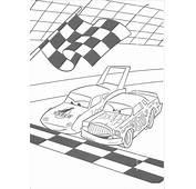 Kleurplaten › Cars Disney