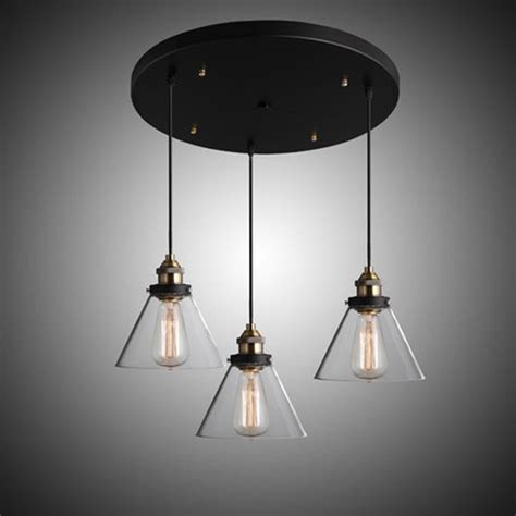 Country Lighting Fixtures For Home Rh Modern Vintage Industrial American Country Loft Glass Edison Pendant L Living Room Bar
