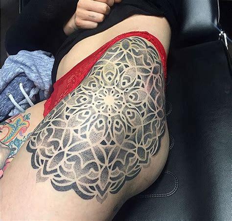 mandala tattoo on hip mandala girls hip piece best tattoo ideas designs