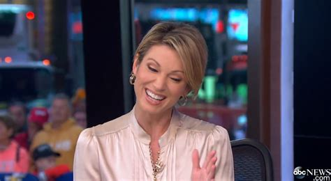 amy robach favorite moisturizer amy robach cream satin blouse short hairstyle 2013